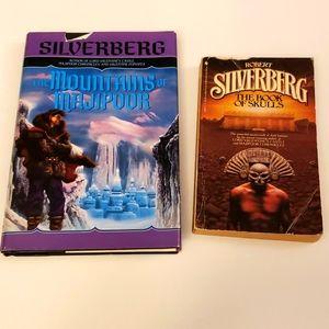 Robert Silverberg 2 book bundle